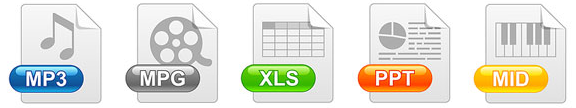 file types icon set 2